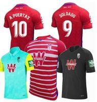 الرجال + الاطفال 2020 2021 جرانادا لكرة القدم الفانيلة 19 20 21 غرناطة CF الصفحة الرئيسية الثالثة Soldado Herrera Antonio Puertas Shirts