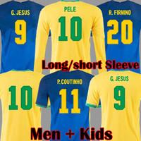 2019 2020 2021 Copa america NEYMAR JR P COUTINHO FIRMINO NERES JESUS Maillots de foot MARCELO brasil Maillot de foot Maillot de foot Kit