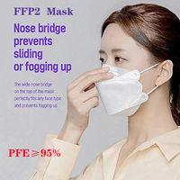 KF94 Yetişkin Toz Geçirmez ve Nefes Koruma Için Maske Söğütlü Yüz Maskesi Toptan DHL Hızlı Ücretsiz Kargo
