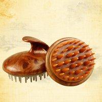 Şampuan Saçağı Masaj Fırçası Hava Çantası Temizleme Şampuan Fırçası Silikon Saç Yıkama Tarak Vücut Banyosu Spa Zayıflama Masaj Fırçaları