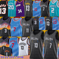 Devin Harden Durant Booker Kevin Jersey 농구 Chris Paul Barkley Kyrie Jerseys Irving Steve Nash Lamelo Gordon Ball Hayward Men