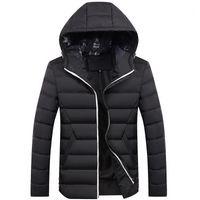 الشتاء سترة الرجال -30 درجة رشاقته الدافئة ستر مقنعين معطف الرجال جاكيتات قميص الرجال الملابس فقاعة معاطف jaqueta الغمد