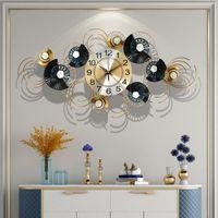 Свет роскошь настенных часы молчания гостиной мода декоративная личность творческие кованое железо декор