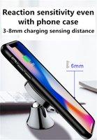 جبل سيارة 10W تشى شاحن لاسلكي المغناطيسي حامل الهاتف حامل لIPhone1211X XRXSMax 8Plus SamsungS9S8 ملاحظة هواوي لينوفو LG جوجل