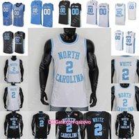 NCAA NEWER CAROLINA TAR каблуки баскетбол Джерси Коул Энтони гарнизон Brooks Coby White Leaky Black Armando Bacot Francis 50 Hansbrough