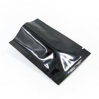 200PCS 6 * 9cm Pure Aluminium Folie Flat Top Förpackning Bag MyLar Open Top Vacuum Heat Seal Storage Bag för snackpulver 5 färger