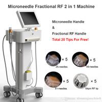 2020 Yeni Varış Kesirli RF Mikronedle Profesyonel Thermage Cilt Gençleştirme Mikronedle Kesirli RF Güzellik Makinesi Thermage Makinesi