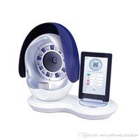 Модный волшебный зеркальный анализатор кожи с 5 спектром таблетки / цифровой анализ кожи