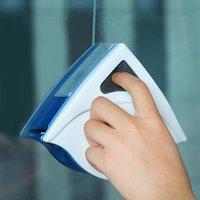 Горячие 3-8 мм Домашнее окно стеклоочиститель стеклоочиститель кисти инструмент двойная боковая магнитная щетка для стирки Windows стеклянная кисть чистящий инструмент T200628