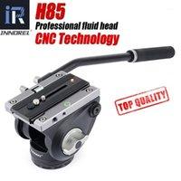 H85 CNC Technology Video Fluid Head 10kg Carga Hidráulica Amortecimento Ajustável Tripé Cabeças Manfrotto 501P Q. R. Placa para Monopod1