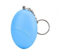 2 pièces de Bell Tama Mini Porte-clés Alarme personnelle d'urgence Self Defense Alarm drop shipping Porte-clés