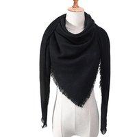 Шали дизайнер 2021 вязаные весенние зимние женщины шарф плед теплые кашемировые шарфы шеи бандана леди