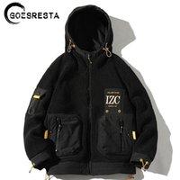 Goesresta Yeni erkek Moda Gelgit Marka Kalın Sokak Vahşi Sonbahar Ve Kış Gevşek Sıcak Ceket Erkekler 201118