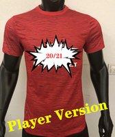 Oyuncu versiyonu 2021 # 6 pogba ünitesi ev kırmızı futbol formaları 20/21 yeni sezon futbol gömlek 2019 futbol üniformaları satışa