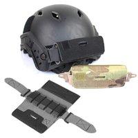 Airsoft all'aperto Paintball Shooting Tactical Airsoft Fast Helmet Casco Accessorio Contrappeso Kit Bilanciamento Borsa Bilanciamento per casco P01-135