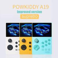 2000 en 1 juego de videojuegos retro juego de mano portátil bolsillo mini jugador de mano para niños regalo para Powkiddy A19 LJ201204