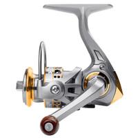 Bougeon de pêche AK 500 Spinning Reel Max Drive 5kg Pas de lacunes 136g super léger plus puissance de haute qualité Mini bobine de pêche