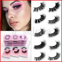3D Mink Eyelashes 12 styles Eye makeup Mink False lashes Sof...