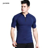 Compression Shirt Men Workout Mens Running T Shirt Brand GYM...