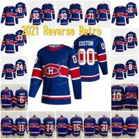 Montreal Canadiens 2021 Reverse Retro Jersey Josh Anderson Carey Price Shea Weber Jonathan Drouin Jesperi Kotkaniemi Nick Suzuki