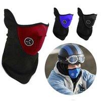 Bisiklet Bisiklet Motosiklet Yarım Yüz Maskesi Kış Sıcak Açık Spor Kayak Maskesi Boyun Guard Eşarp Bisiklet Maskesi CYZ2828 100 adet