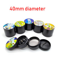 Sharpstone Grinder Zinc Alloy 4 Layers 40 50 55 63mm Tobacco...