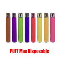 Puff max Max Dispositif jetable Kit E-Cigarettes 2000 Puffs 1200mAh Batterie 8.5ml Pods prérempli Pods prérempli Vape Stick Sty VS Bar Plus XXL Flow Bang