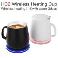 كأس التدفئة JAKCOM HC2 اللاسلكية منتج جديد من شواحن الهاتف الخليوي كما سميكة الزجاج شمعة جرة ميل تتفاعل معصمه