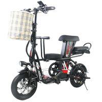 Bici da scooter elettrico con adulto / seggiolino per bambini 2 ruote scooter elettrici 400W 48V viaggio bicicletta bicicletta elettrica