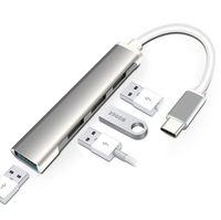 Hub USB 3.0 HUB Type C 4 Port Multi Splitter Adaptateur OTG pour Lenovo MacBook Pro PC Accessoires informatiques