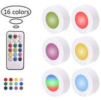 16 color creative LED night lights RGB colorful variable lig...