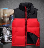 2021 Hombres de invierno de la calidad superior de la calidad de las sudaderas con capucha Camping Camping A prueba de viento Ski Abrigo cálido abajo al aire libre Casual Capucha Sportswear chaleco