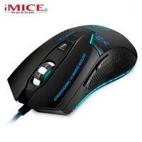 الفئران imice السلكية الألعاب ماوس 3200 ديسيبل متوحد 6 أزرار المهنية البصرية usb الكمبيوتر e-sport gamer لأجهزة الكمبيوتر المحمول X81