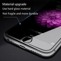 Téléphone portable Protection d'écran pour iPhone x 8 plus en verre trempé 9H dur pour téléphone mobile pour iPhone8 verre de protection Film Couverture