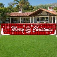 Carta Decoración de fiesta de Navidad Banner Vestir Celebración Escena Decoración Moda Puntales Banner carta de Navidad Banner 0.3X3M