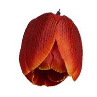 Tissu Artificial Tulipe Salon Chambre à coucher Décoration Accessoire Fleurs Rouge Blanc Blanc Blanc Simulé Tulips Selling 0 6ème L1