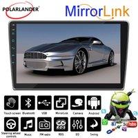 Carro Audio Android Plug-in 10 polegadas 1 Din Rádio Multi-Angle Ajuste Software 2 + 16G Bluetooth Navegação Navegação Interconexão do Telefone Móvel