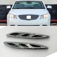 Per Buick Lacrosse 2009-2013 Auto Auto Cover Auto Sinistra Destra Side Silver Black Decorative Frame Trim