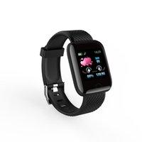뜨거운 판매 116Plus 스마트 팔찌 피트니스 트래커 방수 스포츠 시계 블루투스 Smartwatch 5color 시계 팔찌 도매
