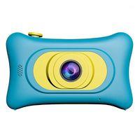 Cámara para niños Cáscara de plástico Mini Mini cartoon Digital Digital 5V / 1A EXPANSIÓN DE APOYO 32GB SD SLR 1-1.5 HORAS MANUAL DE CÁMARA REGALO1