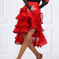 Sahne Giyim Latin Dans Etek Yetişkin Kadın İspanyol Boğa Işığı Bandaj Kalça Eşarp Flamenko Performans Giyim Egzersiz DL55231