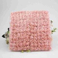 144 шт. Искусственная розовая пена цветок DIY ручной работы гирлянда подарочная коробка украшения продукты невесты свадебные волосы обруч венок аксессуары1
