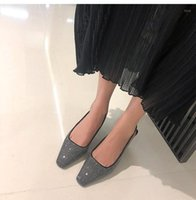 Ferlenz granizado suave de hadas de hadas puntiagudo zapatos de tacón de mariposas delgadas1
