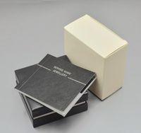 luxury Men shirt Cufflinks Box with logo unique design jewelry Cuff links gift box Perfect match for Cufflinks box