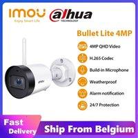 Dahua Inou Impermeable Bullet Lite 4MP Micrófono incorporado Notificación de alarma 30M Visión nocturna Video Video Video WiFi Cámara IP LJ201205