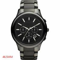 Beste Qualität 2020 Neue Mode Männer Herren Armbanduhr AR1451 AR1452 Ceramic Quarzuhr Chronograph AR Watch