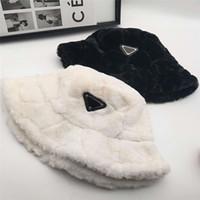 Winter Warme Eimer Hut Mütze Mode Stingy Rand Hüte Atmungsaktiv Zufällige Einbauhüte Mütze Casquette 4 Farbe Hochqualität