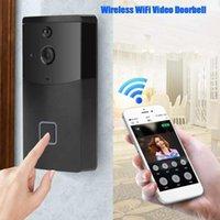 Дверные звонки Дверной колокольчик Беспроводной WiFi Дверное звонок Видео Телефон Кольцо Домофон Ночного Видения Домашняя Безопасность Дома