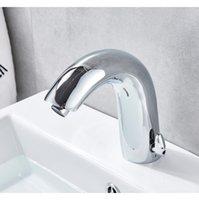 Смесители бассейна MATIC инфракрасный датчик ванной раковины кран беззаконный индуктивный электрический палубный туалет WA JLLWKW WigleSlov