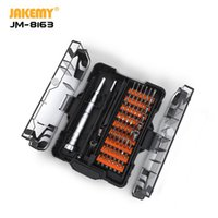 JAKEMY 62 in 1 Multifunction Precision Screwdriver Set Magnetic S2 Bit Screw driver For Phones Tablet PC Opening Repair Tool